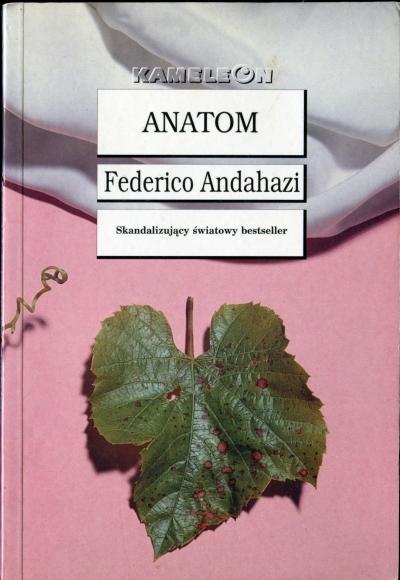 Federico Andahazi - Anatom (okładka)