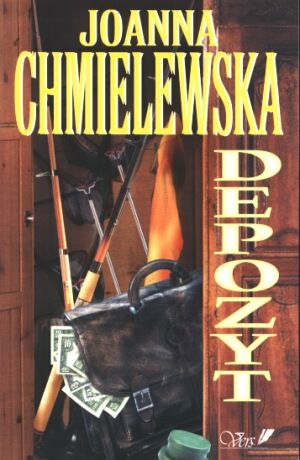 Joanna Chmielewska - Depozyt (okładka)