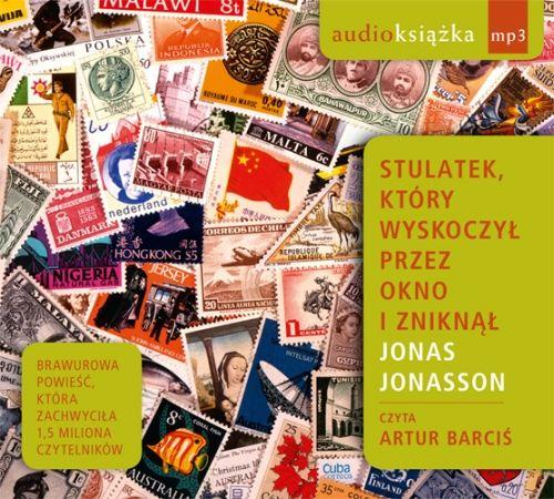 Jonas Jonasson - Stulatek który wyskoczył przez okno i zniknął (okładka)