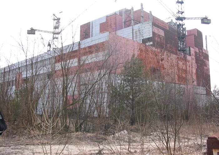 Blok elektrowni - prawdopodobnie ten, w którym byliśmy, fot. własna
