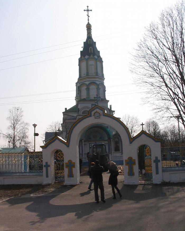Czarnobyl - cerkiew, fot. własna