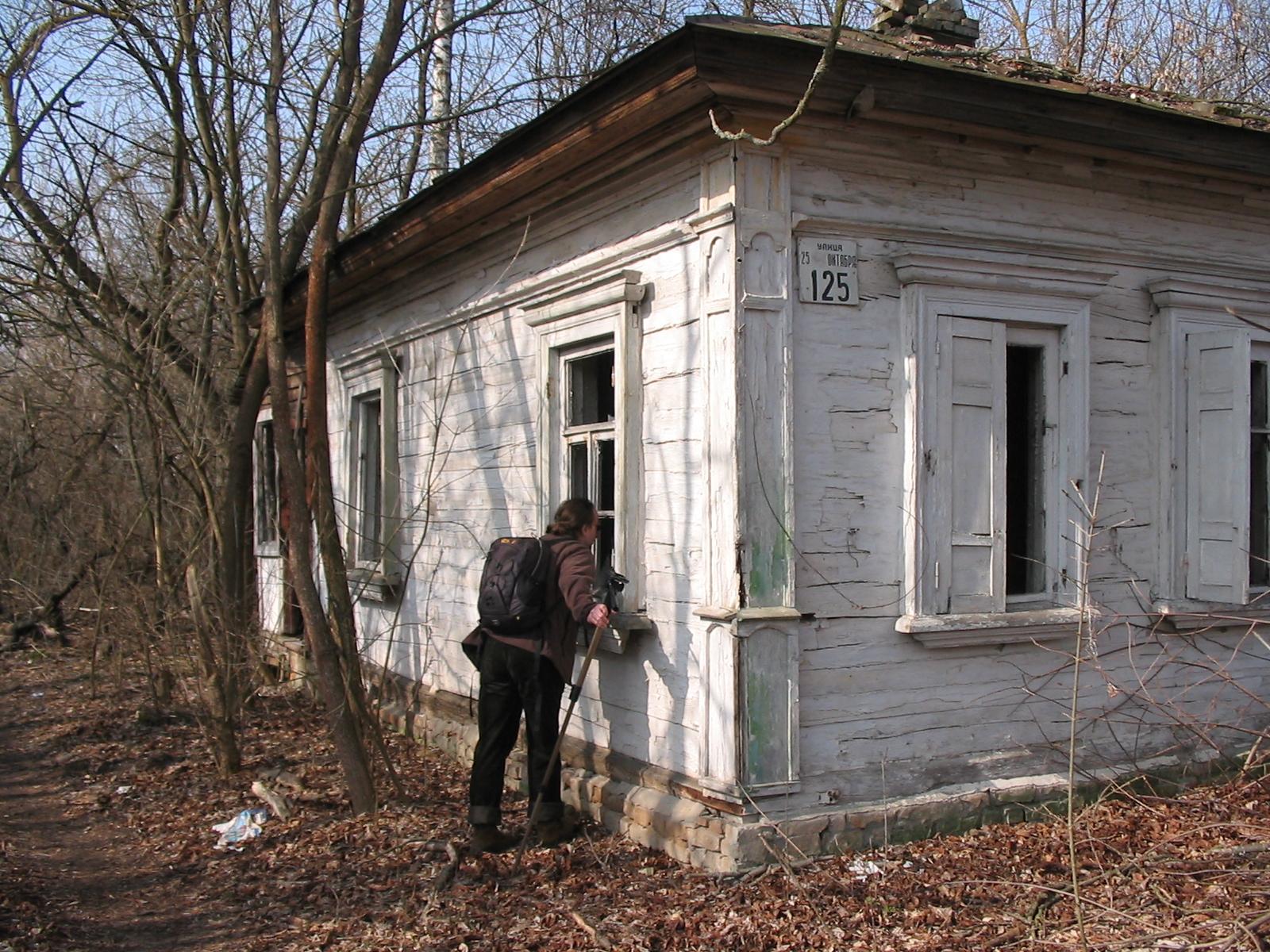 Czarnobyl - dom mieszkalny, fot. własna