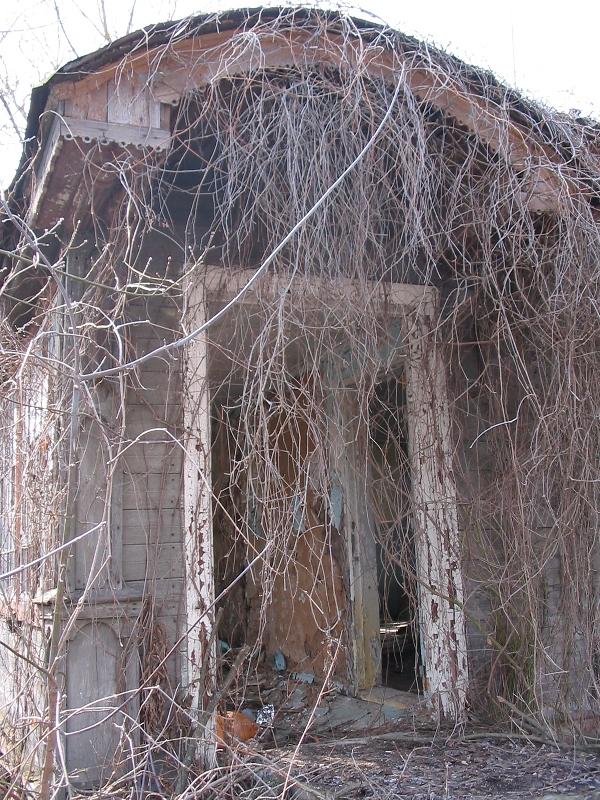 Czarnobyl - wejście do budynku mieszkalnego, fot. własna