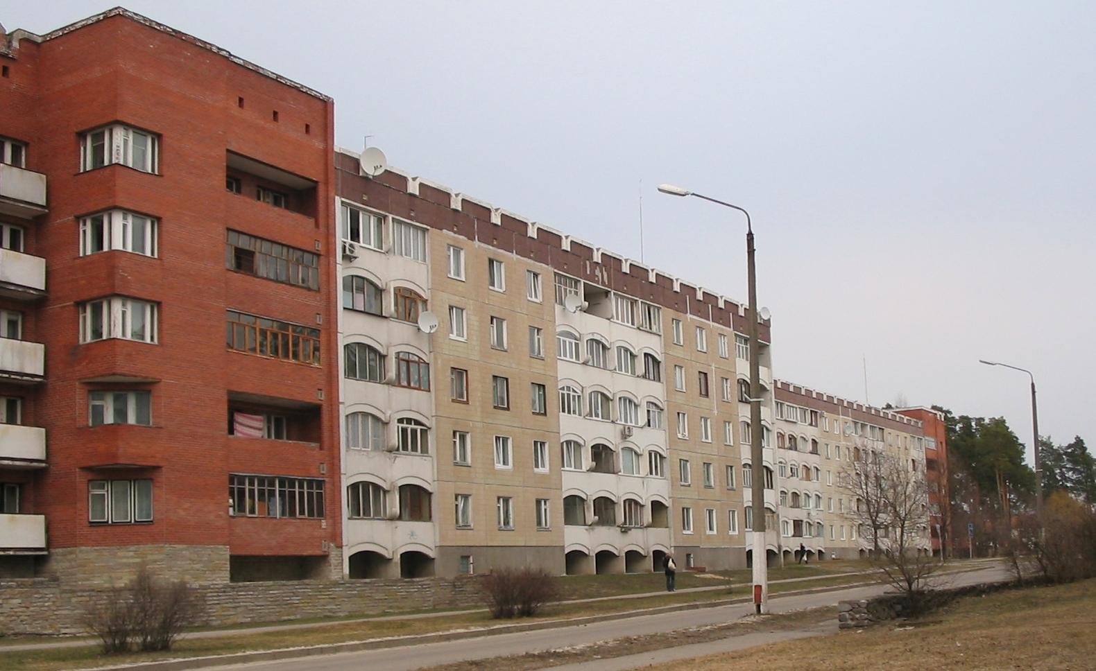 Sławutycz - architektura, fot. własna