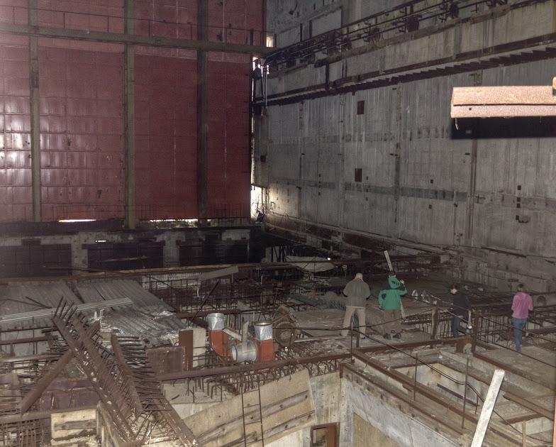 Wnętrze elektrowni, fot. Bartek Szymański (Draakhan)