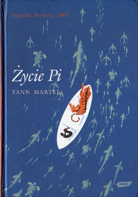 Yann Martel - Życie Pi (okładka)