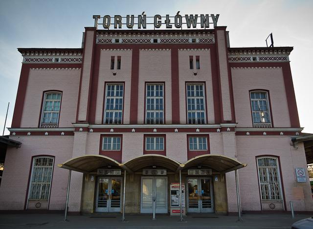 Dworzec kolejowy (fot. własna)