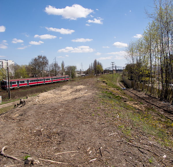 Nasyp przy dworcu PKP Gdańsk Wrzeszcz (fot. własna)