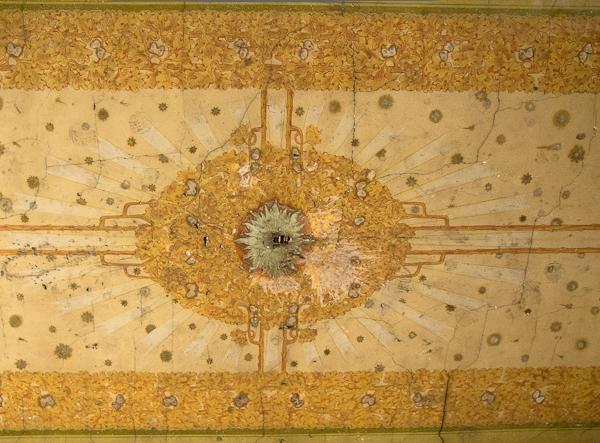 Sufit w bramie budynku (fot. własna)