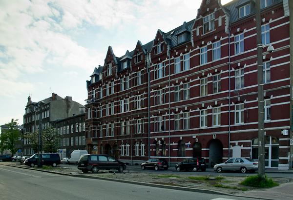 Budynek mieszkalny, ul. Łąkowa (fot. własna)
