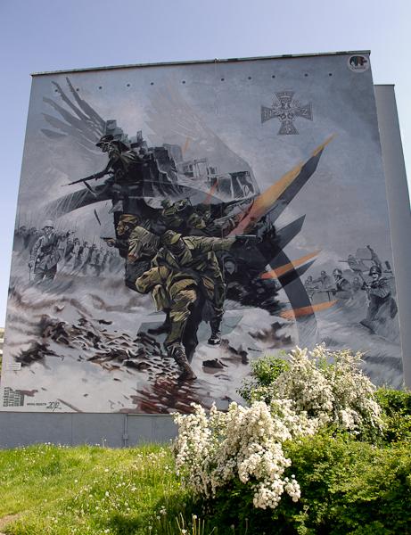 nr 8 (2012 r) 70. Rocznica NSZ. dańska Szkoła Muralu, Michał Węgrzyn - ul. Nagórskiego 11c