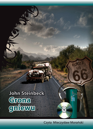 "John Steinbeck - ""Grona gniewu"" (okładka)"