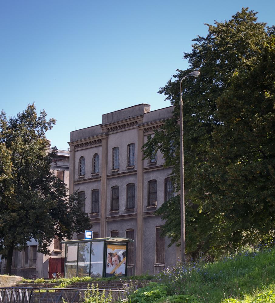 Ulica Kamienna Grobla - kamienica (fot. własna)