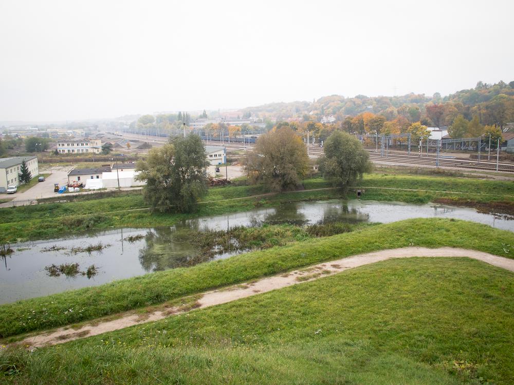 Widok z Bastionu św. Gertrudy (fot. własna)