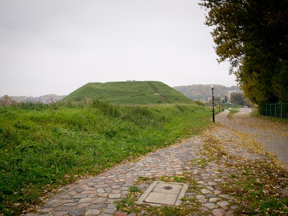Spojrzenie wstecz na Bastion Tur/Żubr (fot. własna)