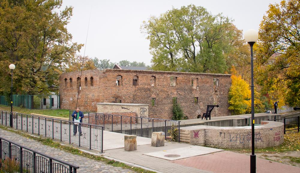 Ruiny dawnego młyna (fot. własna)