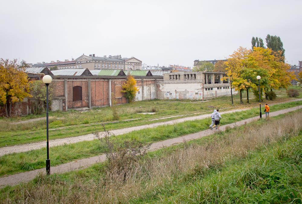 Na tyłach zajezdni tramwajowej (fot. własna)