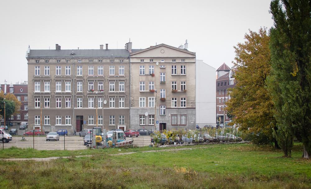 Zabudowa mieszkalna Dolnego Miasta (fot. własna)