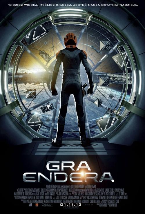 Gra Endera - plakat filmowy