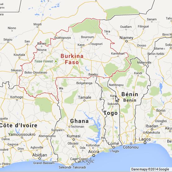 Burkina Faso - Benin - Togo - Ghana