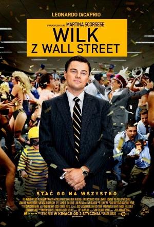 Wilk z Wall Street (plakat)