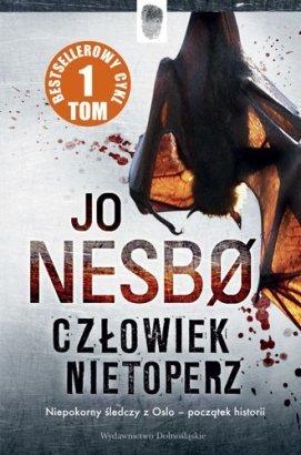 Jo Nesbø - Czlowiek nietoperz (okładka)