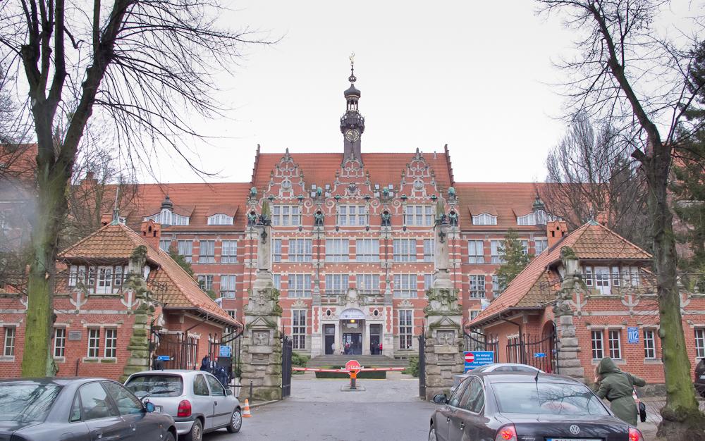 Politechnika Gdańska - budynek główny (fot. własna)