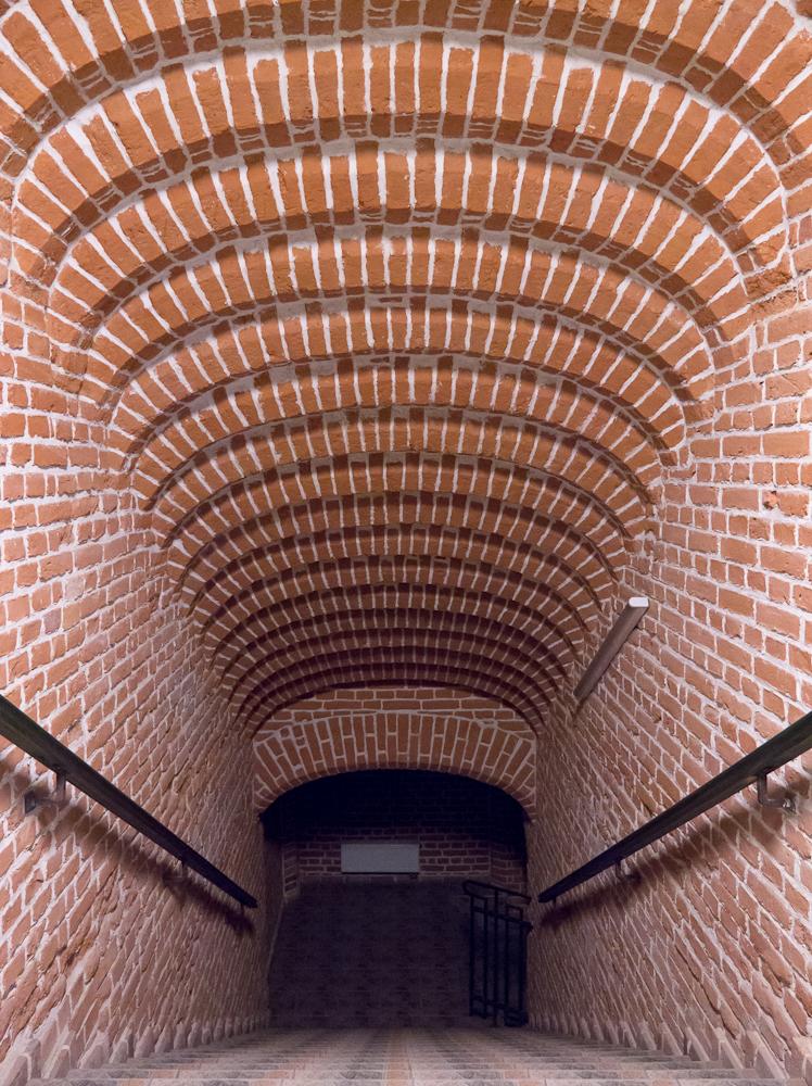Budynek uczelni wewnątrz