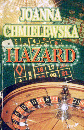 Joanna Chmielewska - Hazard (okładka)