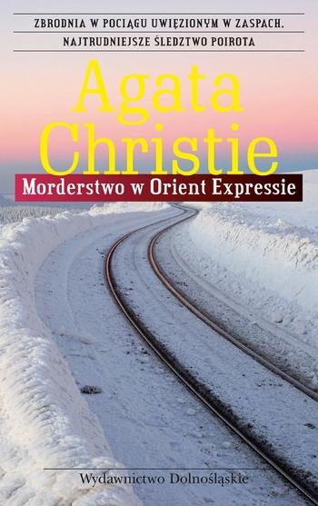 Agatha Christie - Morderstwo w Orient Expressie (okładka)