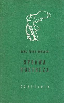 Hans Erich Nossack - Sprawa D'Artheza (okładka)
