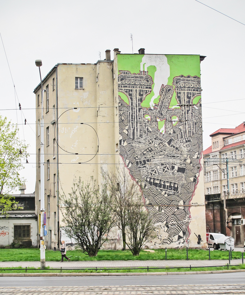 Swojsko, są tu murale