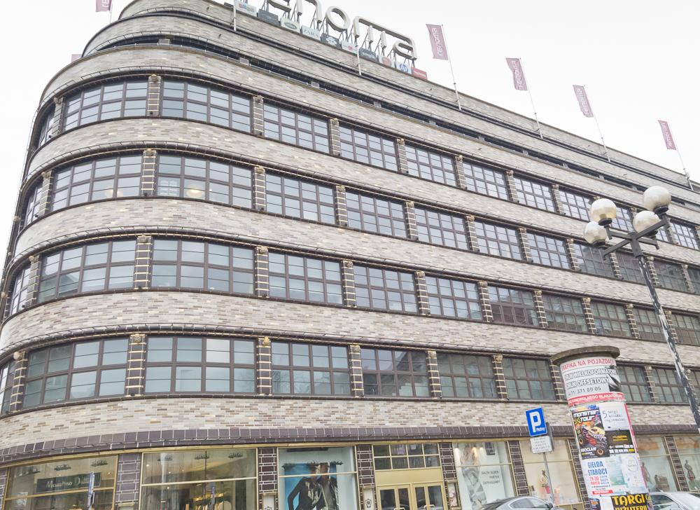 Modernistyczny dom towarowy Renoma