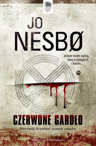 Jo Nesbo - Czerwone gardło (okładka)