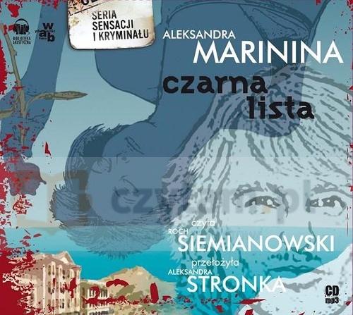 Aleksandra Marinina - Czarna lista (okładka)