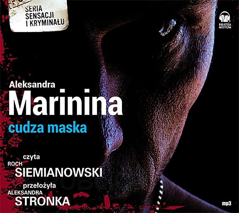 Aleksandra Marinina - Cudza maska (okładka)