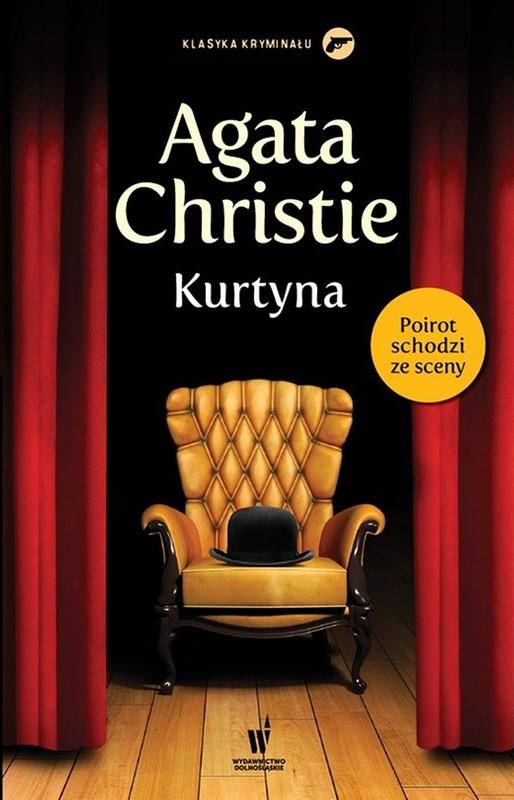 Agata Christie - Kurtyna (okładka)