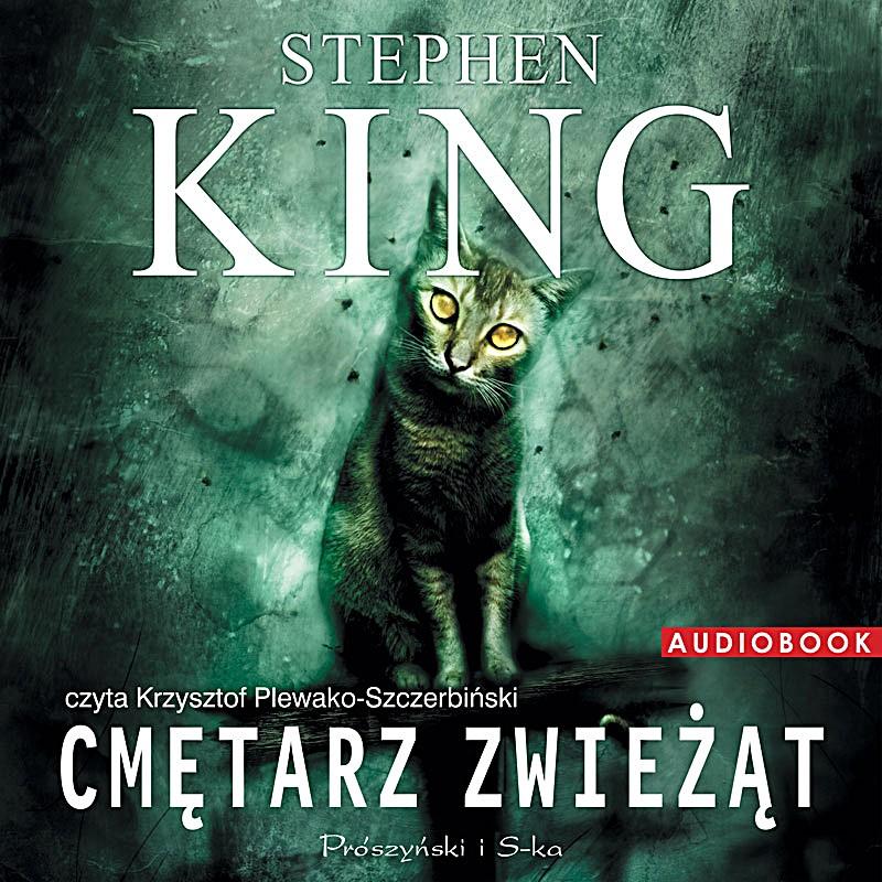 Cmętarz zwieżąt - Stephen King (okładka)