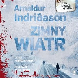 Zimny wiatr - Arnaldur Indriðason (okładka)