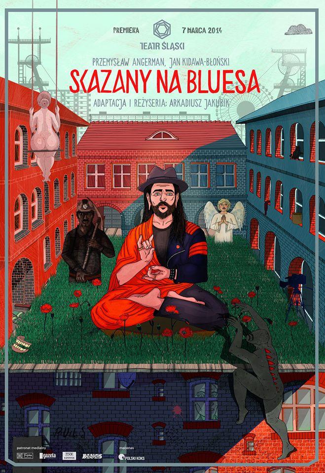 Skazany na bluesa (plakat)